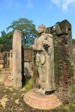 Hatadage, Polonnaruwa nello Sri Lanka Fotografie Stock Libere da Diritti