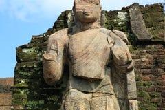 Hatadage, Polonnaruwa in Sri Lanka Stock Photography