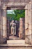 Hatadage ruins in Polonnaruwa city temple UNESCO Stock Photos