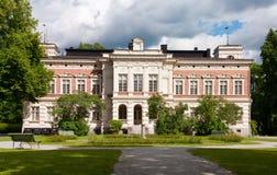 Hatanpaa Mansion. The historical Hatanpää mansion at Hatanpää, Tampere, Finland Stock Images