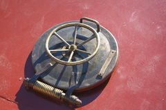 The hatch. On the ship Royalty Free Stock Image
