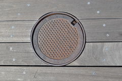 Hatch cover Royalty Free Stock Image