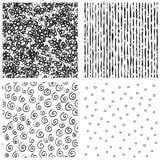 Hatch  patterns Stock Photos