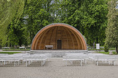 Free Hatch Shell Bandstand Royalty Free Stock Photography - 71095787