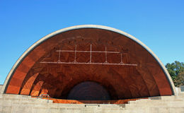 Hatch Shell Boston. The Hatch Shell in Boston Esplanade Royalty Free Stock Photography