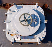 Hatch of a ship Stock Image