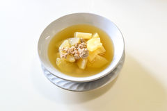 Hatch soup with pork Stock Images