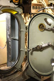Hatch of USS Razorback diesel submarine Stock Photography