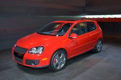 Hatchback de Volkswagen fotografia de stock royalty free