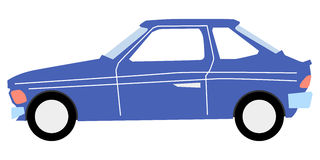 Hatchback Royalty Free Stock Images
