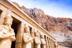 Hatchepsut świątynia Grobowowie wielmoże zdjęcie stock