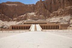 Hatchepsut temple in Luxor Stock Image