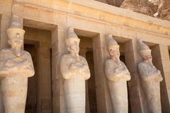 Hatchepsut temple in Luxor, Egypt Royalty Free Stock Photo
