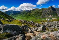 Hatcher Pass, Alaska stock images
