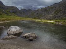 Hatcher Pass Secret Lakes royalty free stock images