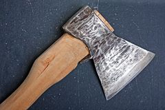 Hatchet Stock Photo