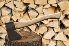 Hatchet Royalty Free Stock Photos