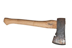 Hatchet isolated Stock Images