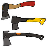 Hatchet. Vector drawing of the hatchets Stock Photo