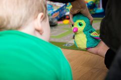 Hatchimal Stock Images