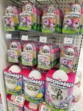 Hatchimals toys packs in a store Stock Image