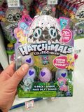 Hatchimals toys packs in a store Stock Images