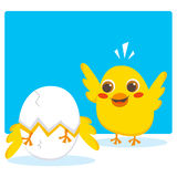 Hatching egg Stock Photos