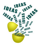 Hatching ideas Royalty Free Stock Images