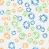 Hatching vector Abstract geometric circle seamless pattern. 10 eps vector illustration