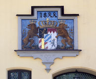 Hatchment of bavarian Stock Photo
