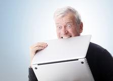 Hate computer Stock Photography