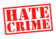HATE CRIME Stock Photo