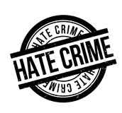 Hate Crime rubber stamp Royalty Free Stock Photos