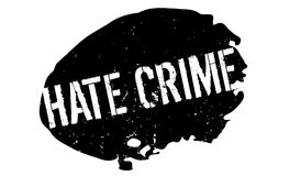 Hate Crime rubber stamp Royalty Free Stock Images