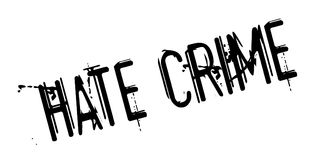 Hate Crime rubber stamp Royalty Free Stock Photography