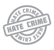 Hate Crime rubber stamp Stock Photography