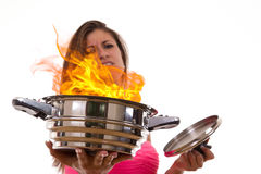 Hate to cook Stock Photos