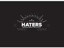 Haters quote Royalty Free Stock Image