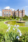 Hatfield House. With garden, Hertfordshire, England Stock Photography