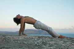 Hatha-yoga stock images