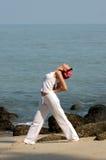 Hatha Yoga Lizenzfreies Stockbild
