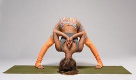 Hatha yoga pose Royalty Free Stock Photos