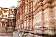 Hatheesing寺庙-印度 免版税库存图片