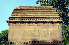 Hatheesinh jain temple, ahmadabad royalty free stock photography