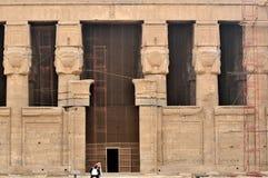 hathor寺庙 图库摄影