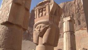 Hathor Column in the Temple of Hatshepsut