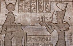 HATHOR GODDES IN DENDERA TEMPLE. EGYPT Royalty Free Stock Image