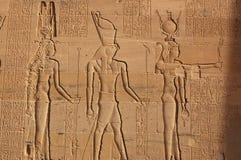 Hathor, Horus ed ISIS Fotografia Stock