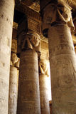 Hathor pillars Stock Images