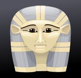 Hathor. Vector drawing of the Ancient Egyptian goddess hathor Stock Image